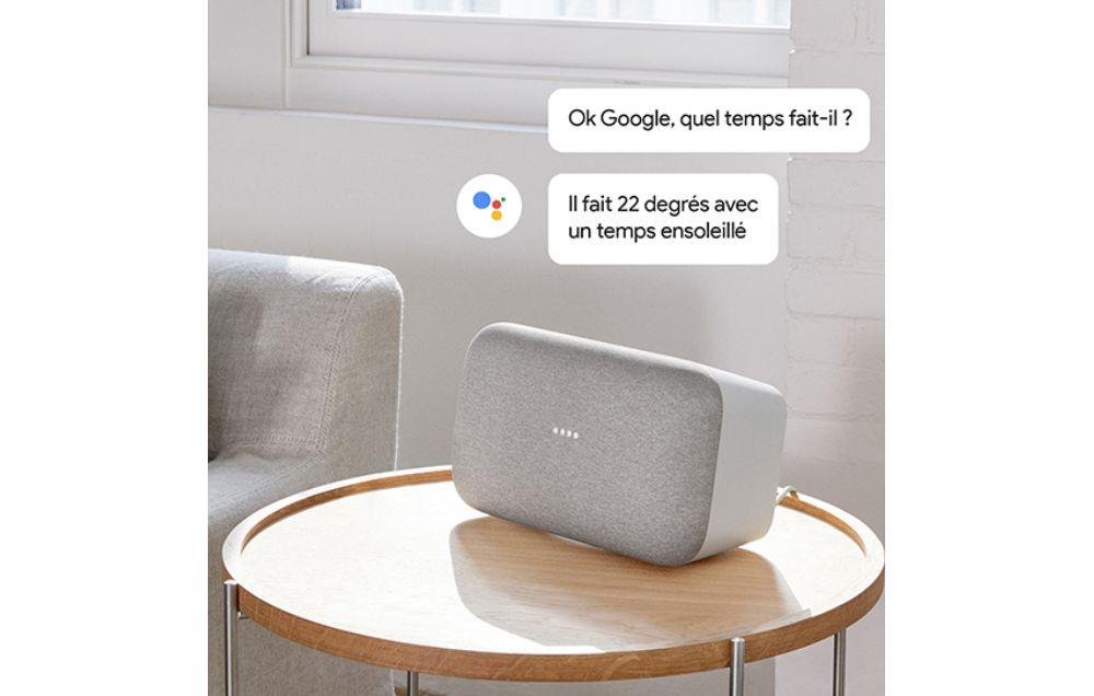 Assistant Google intégré à Google Home Max