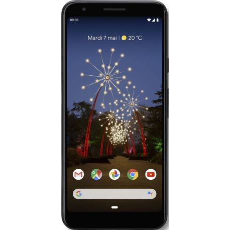 Smartphone GOOGLE Pixel 3a Simplement noir