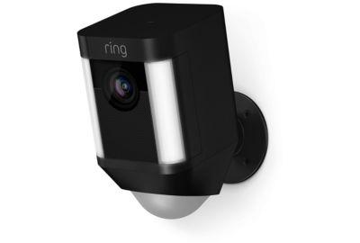 Caméra RING Caméra Spotlight noire sur batterie