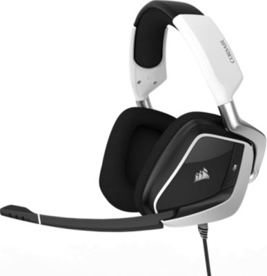Casque Gamer corsair void pro rgb usb dolby 7.1 - white