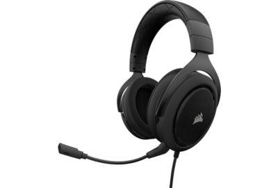 corsair hs60 surround gaming carbon casque gamer boulanger. Black Bedroom Furniture Sets. Home Design Ideas
