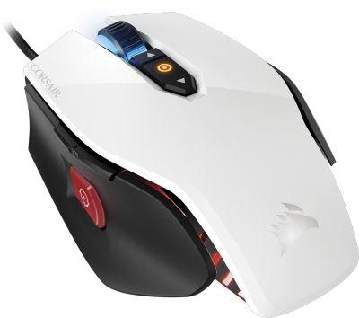 Souris gamer Corsair M65 PRO RGB FPS wHITE