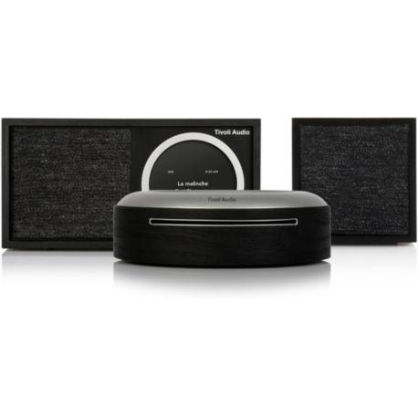 Micro chaîne TIVOLI M1D/Cube/MCD Wireless CD Combo noir