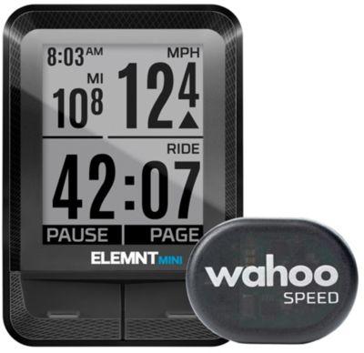 GPS de loisirs Wahoo Fitness de vélo ELEMNT MINI Compteur/capteur RPM