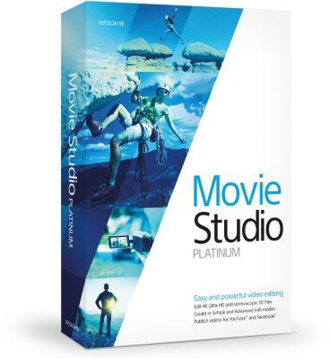 Logiciel de photo/vidéo Sony VEGAS Movie Studio 13 Platinum