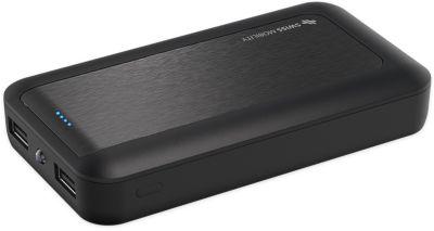 Batterie Externe swiss mobility 11000 mah noir - 2.4a fast charge