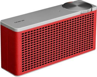 Enceinte Bluetooth Geneva Touring XS Red