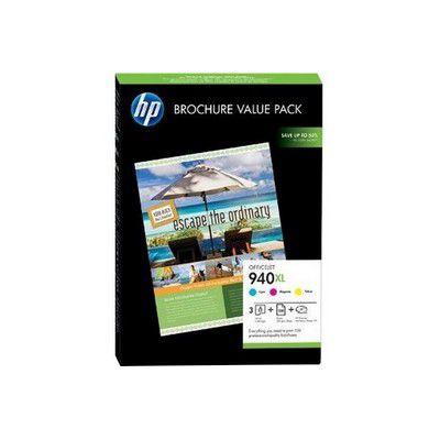 Cartouche d'encre HP N°940XL (100f+C/M/J)Value Pack