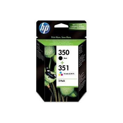 Cartouche d'encre HP N°350 + N°351
