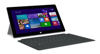 Clavier Tablette microsoft touch cover 2 black pour surface