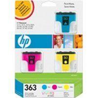 Cartouche d'encre HP N°363 3 couleurs