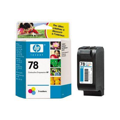 Cartouche d'encre HP N°78D 3 couleurs