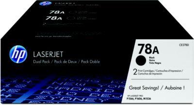 Toner HP N°78A Noir x 2