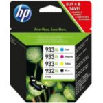 Pack HP N°932XL +N°933XL (N/C/M/J)