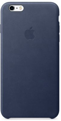 Coque Apple iPhone 6/6s Plus Cuir Bleu nuit