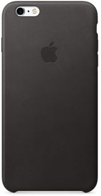 Coque Apple iphone 6/6s plus cuir noir