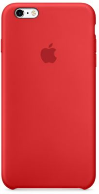 Coque Apple iPhone 6/6S Plus (PRODUCT)RED silicone