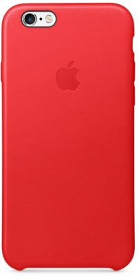 Coque Apple iPhone 6/6S cuir PRODUCT(RED)