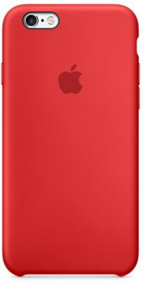 Coque Apple iPhone 6S Silicone (PRODUCT) RED