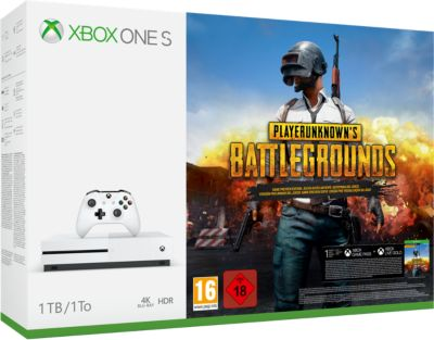 Console Xbox One S Microsoft 1TO Playerunknown's Battlegrounds (PUBG)