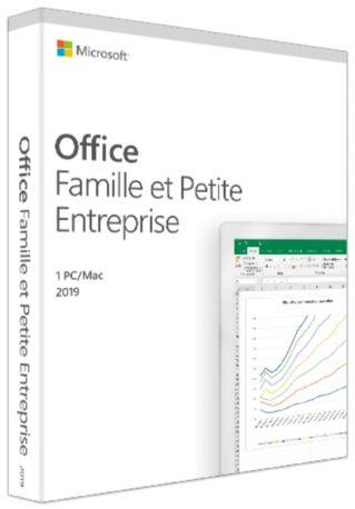 Logiciel PC  MICROSOFT Office Famille et Entreprise 2019