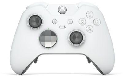 Manette Microsoft manette elite xbox one blanche