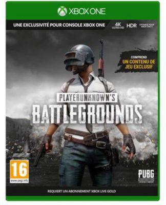 Jeu Xbox one microsoft playerunknown's battlegrounds 1.0