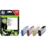 Pack HP N°364 (N/C/M/J)