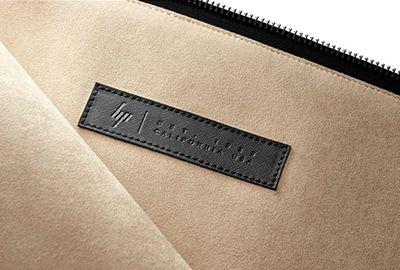 Protection HP Leather sleeve 13.3' noir