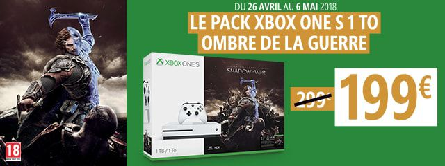 OFFRE XBOX ONE S