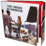 Livre WEBER 1001 menus au barbecue