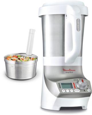 moulinex soup & co lm908110 panier vapeur silver - blender