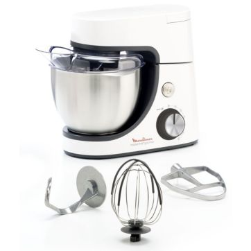 Robot pâtissier MOULINEX MASTERCHEF GOURMET BLANC QA510110