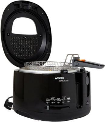 seb ff160800 filtra one black friteuse boulanger. Black Bedroom Furniture Sets. Home Design Ideas