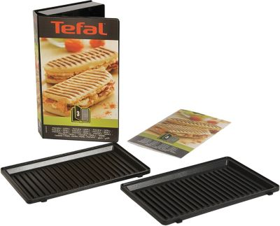 tefal xa800312 2 plaques grill panini accessoire. Black Bedroom Furniture Sets. Home Design Ideas