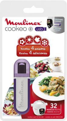 Livre de cuisine Moulinex COOKEO 32 recettes - 4 saisons