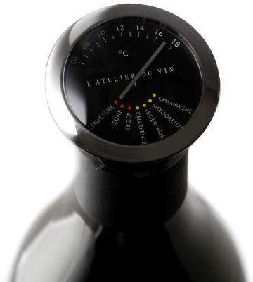 l 39 atelier du vin thermom tre accessoire cave vin boulanger. Black Bedroom Furniture Sets. Home Design Ideas