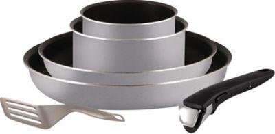 Batterie de cuisine Tefal Ingenio Essential Gris 6 pièces