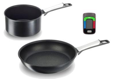 Batterie de cuisine tefal assisteo cass 20cm + poêle 26cm e5559002