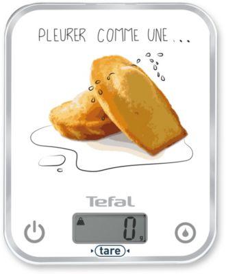 Balance de cuisine Tefal OPTISS DECOR Pleurer comme une madeleine