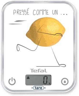 Balance de cuisine Tefal OPTISS DECOR Pressé comme un citron