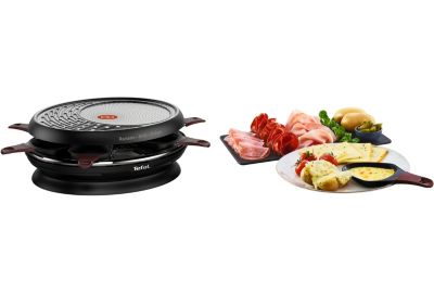 Raclette TEFAL Colormania noir RE320012