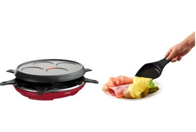 Raclette TEFAL Colormania rouge RE310512