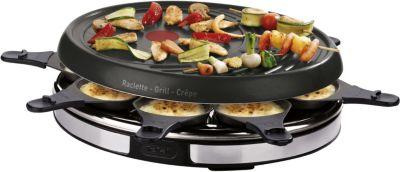 tefal inox re137812 raclette fondue boulanger. Black Bedroom Furniture Sets. Home Design Ideas