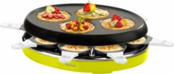 Raclette TEFAL RE138O12 Colormania