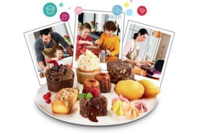 App biscuit TEFAL Cake Factory KD801811