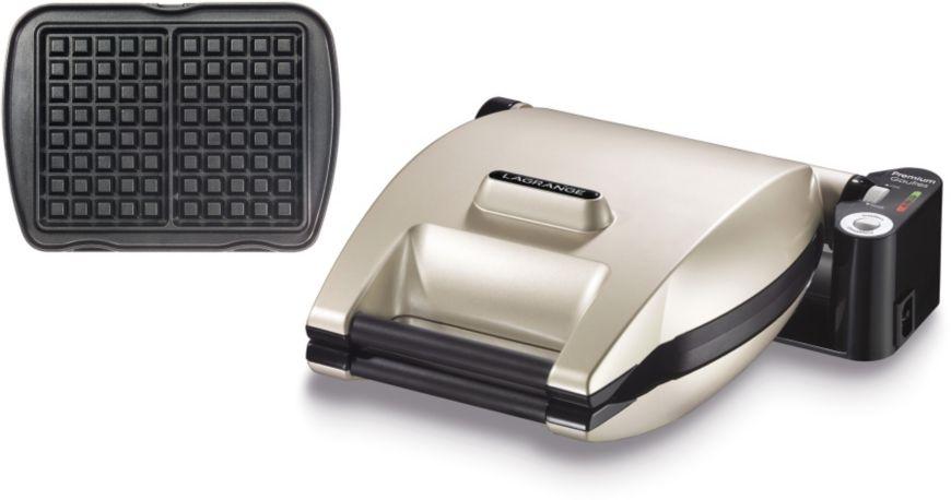 Gaufrier LAGRANGE Premium 019152 Gaufres Argent