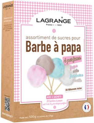 Sucre Lagrange Assortiment Barbe à papa 380000