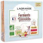 Ferments LAGRANGE BIO arome Vanille-Fram
