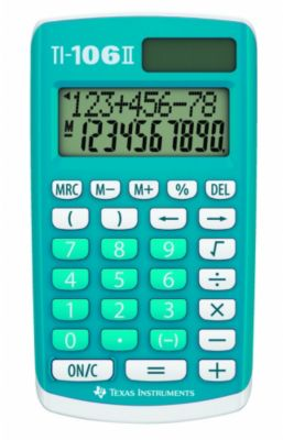 Calculatrice standard Texas Instruments TI-106 II